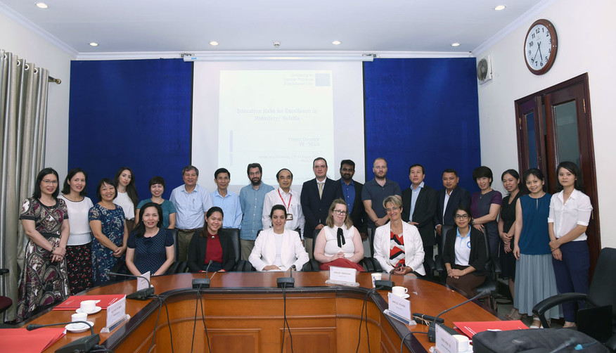 "Kick-Off Meeting of ""SafeMa"" Project in Hanoi (Vietnam), HMU's premises"